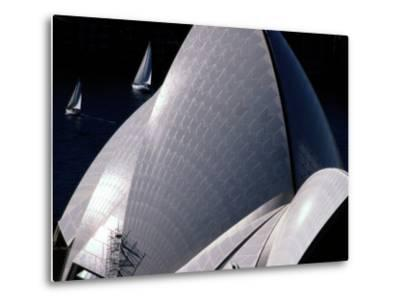 Elevated View of the Sydney Opera House-Paul Chesley-Metal Print