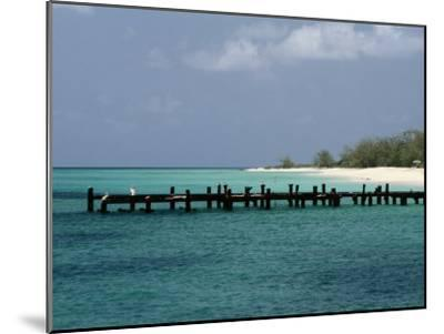 An Old Pier on Grand Turk Island-Wolcott Henry-Mounted Photographic Print