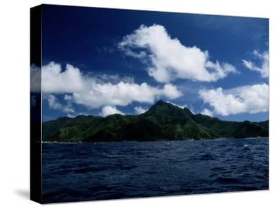 Scenic View of American Samoa-Wolcott Henry-Stretched Canvas Print