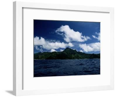 Scenic View of American Samoa-Wolcott Henry-Framed Photographic Print