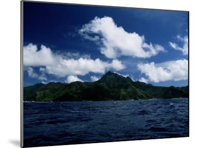 Scenic View of American Samoa-Wolcott Henry-Mounted Photographic Print