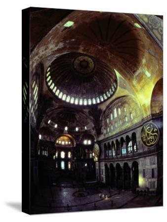 Interior Shot of Hagia Sophia-James L^ Stanfield-Stretched Canvas Print
