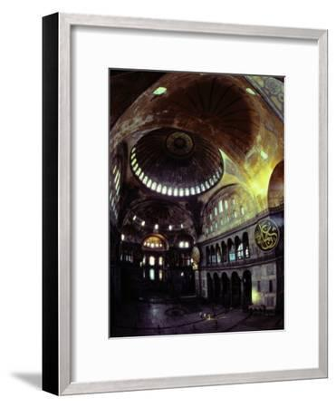 Interior Shot of Hagia Sophia-James L^ Stanfield-Framed Photographic Print