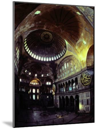 Interior Shot of Hagia Sophia-James L^ Stanfield-Mounted Photographic Print