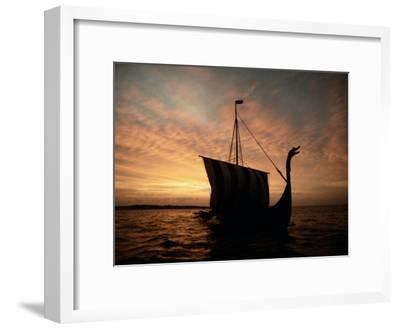 Viking Ship Replica-Ted Spiegel-Framed Photographic Print