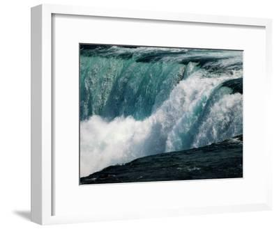 A View of American Falls from Luna Island-Richard Nowitz-Framed Photographic Print