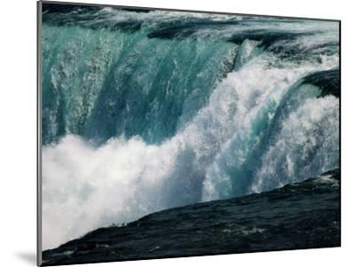 A View of American Falls from Luna Island-Richard Nowitz-Mounted Photographic Print