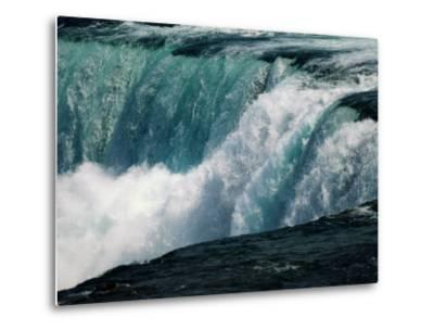 A View of American Falls from Luna Island-Richard Nowitz-Metal Print