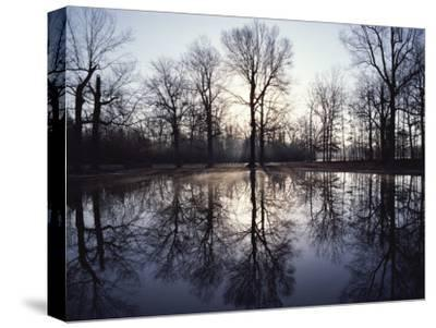 View of Bloody Pond-Sam Abell-Stretched Canvas Print