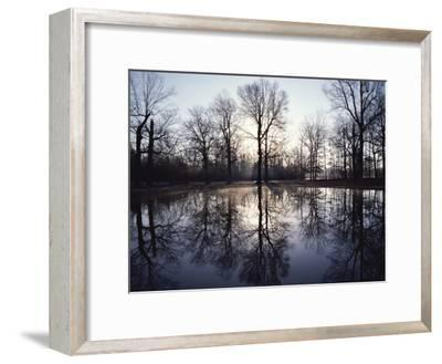 View of Bloody Pond-Sam Abell-Framed Photographic Print