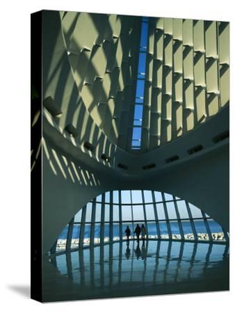 A View of the Inside of the Milwaukee Art Museum-Medford Taylor-Stretched Canvas Print