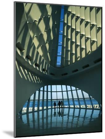 A View of the Inside of the Milwaukee Art Museum-Medford Taylor-Mounted Photographic Print
