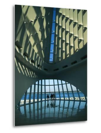 A View of the Inside of the Milwaukee Art Museum-Medford Taylor-Metal Print
