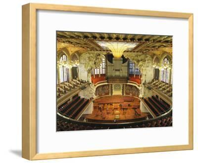 Interior View of an Ornate Orchestra House-Richard Nowitz-Framed Photographic Print
