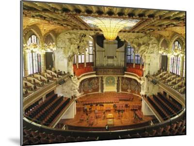 Interior View of an Ornate Orchestra House-Richard Nowitz-Mounted Photographic Print