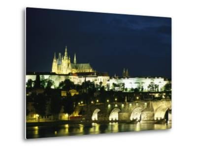 Evening View of the Skyline of Old Prague-Taylor S^ Kennedy-Metal Print