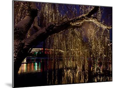 Christmas at Tivoli Where Holiday Lights Brighten the Long Winter Night-Keenpress-Mounted Photographic Print