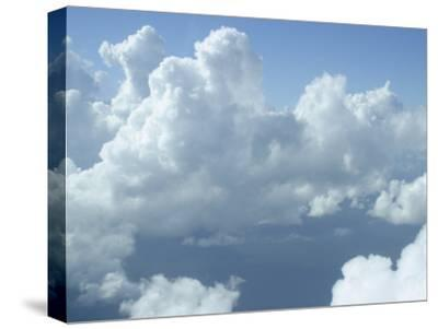Clouds Float Over Belize-Stephen Alvarez-Stretched Canvas Print