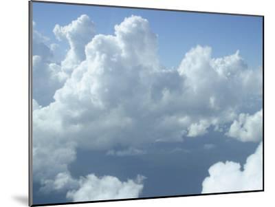 Clouds Float Over Belize-Stephen Alvarez-Mounted Photographic Print