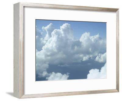 Clouds Float Over Belize-Stephen Alvarez-Framed Photographic Print