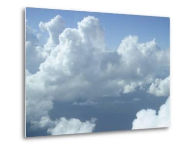 Clouds Float Over Belize-Stephen Alvarez-Metal Print