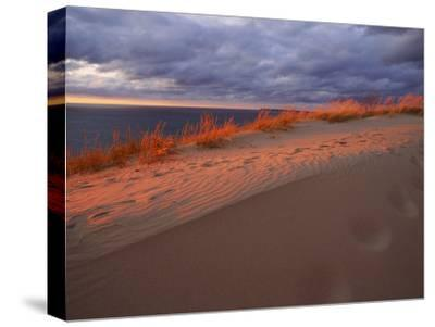 Scenic View of Sleeping Bear Dunes National Lakeshore-Melissa Farlow-Stretched Canvas Print