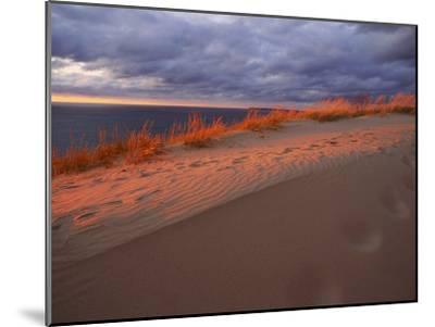 Scenic View of Sleeping Bear Dunes National Lakeshore-Melissa Farlow-Mounted Premium Photographic Print