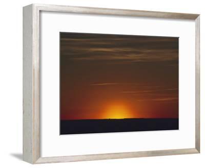 Sunrise in the Desert, Arizona-David Edwards-Framed Photographic Print