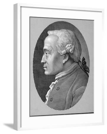 German Philosopher and Metaphysician Immanuel Kant--Framed Photographic Print