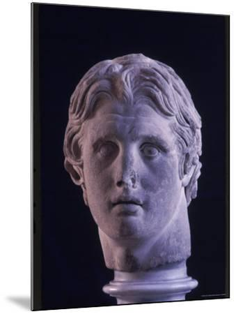 Hellenic Sculpture of Alexander the Great from the Musee D'Antiquities de Stambul-Dmitri Kessel-Mounted Photographic Print