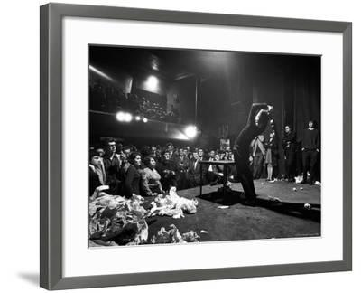 Happening Performed at the Festival of Free Expression-John Loengard-Framed Photographic Print
