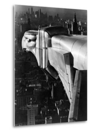 Chrysler Building Gargoyle-Margaret Bourke-White-Metal Print