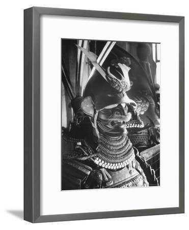 Helmet from Japanese Samurai Suit-Fritz Goro-Framed Photographic Print