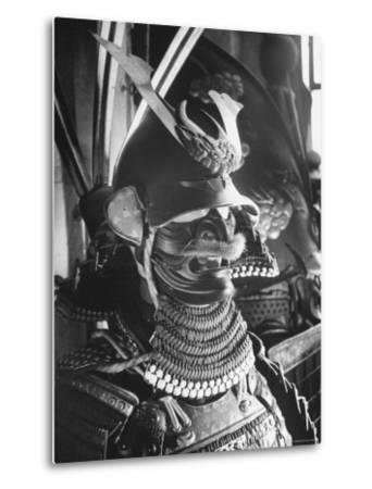 Helmet from Japanese Samurai Suit-Fritz Goro-Metal Print