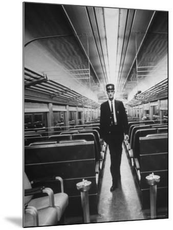 Commuters on the New Haven Line-Alfred Eisenstaedt-Mounted Photographic Print