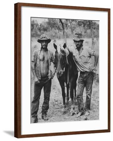 Australian Cowboys-George Silk-Framed Photographic Print