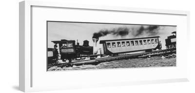Mt. Washington Cog Railroad Built in 1869-Dmitri Kessel-Framed Photographic Print