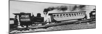 Mt. Washington Cog Railroad Built in 1869-Dmitri Kessel-Mounted Photographic Print