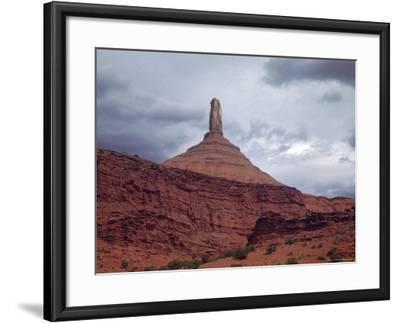 Rock Pinnacle Along the Colorado River-Dmitri Kessel-Framed Photographic Print