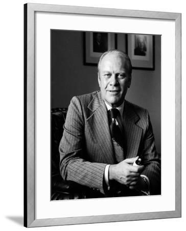 Vice President Gerald R. Ford-Alfred Eisenstaedt-Framed Photographic Print
