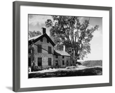 Old Brick Farmhouse-Alfred Eisenstaedt-Framed Photographic Print