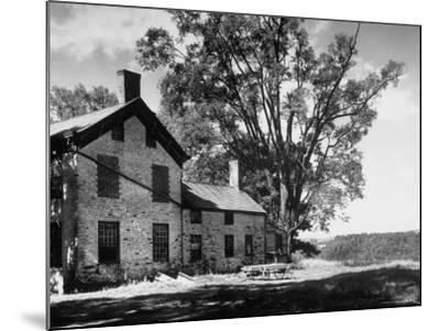 Old Brick Farmhouse-Alfred Eisenstaedt-Mounted Photographic Print