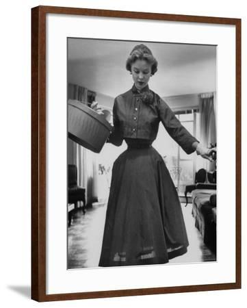 Small Bag Wardrobe Fashion-Gordon Parks-Framed Photographic Print