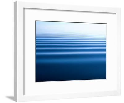Small Gentle Ripples Move Across the Calm Surface of the Arctic Ocean-Norbert Rosing-Framed Photographic Print