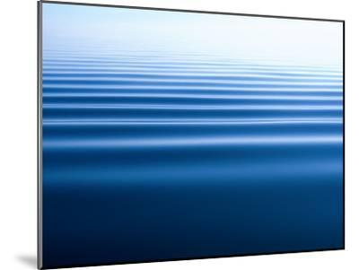 Small Gentle Ripples Move Across the Calm Surface of the Arctic Ocean-Norbert Rosing-Mounted Photographic Print
