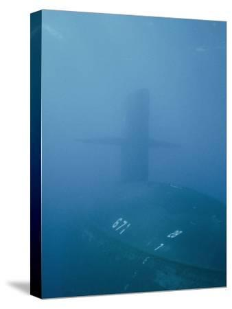 The Uss Narwhal Ssbn 617, Now Decommisioned-Bill Curtsinger-Stretched Canvas Print