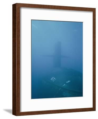 The Uss Narwhal Ssbn 617, Now Decommisioned-Bill Curtsinger-Framed Photographic Print