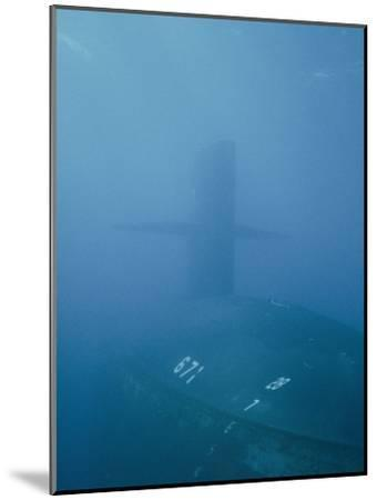 The Uss Narwhal Ssbn 617, Now Decommisioned-Bill Curtsinger-Mounted Photographic Print