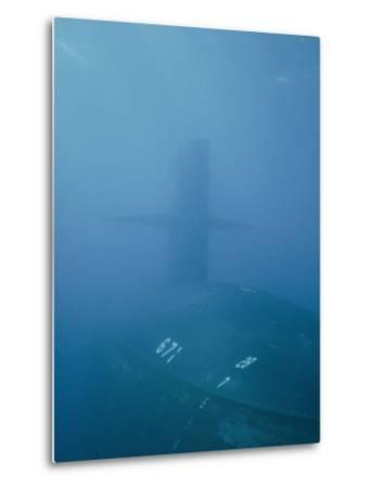 The Uss Narwhal Ssbn 617, Now Decommisioned-Bill Curtsinger-Metal Print
