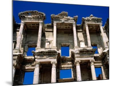 Ruins of Celsus Library, Ephesus, Turkey-Wayne Walton-Mounted Photographic Print